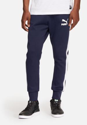 PUMA Archive Track Pants Sweatpants & Shorts Navy & White