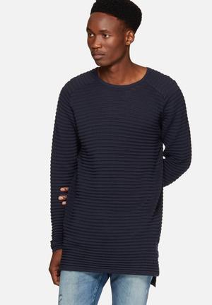 Jack & Jones Core Blake Knit Knitwear Navy
