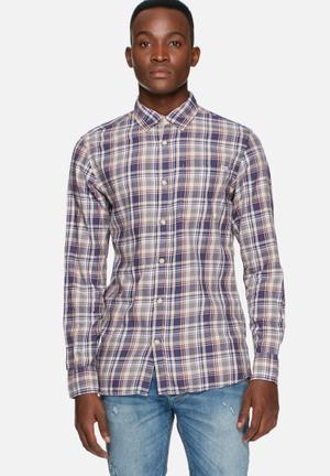 Jack & Jones Vintage Maywood Slim Shirt Blue