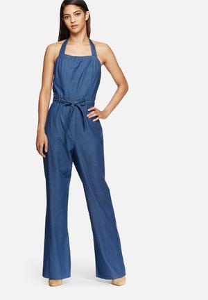 Vero Moda Pixi Jumpsuit Jeans Blue