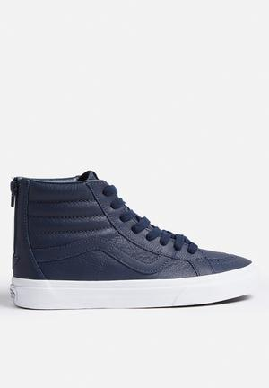 Vans SK8-HI Reissue Zip Sneakers Dress Blues / True White