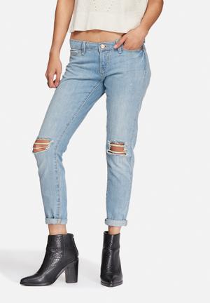 Noisy May Eve Jeans Light Blue Denim