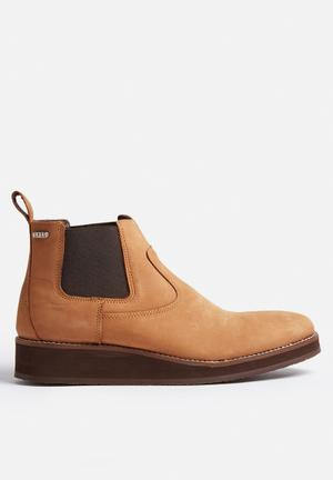 Sergeant Pepper Leather Chelsea Boot Tan
