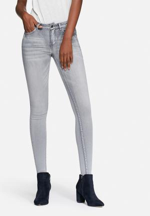 VILA Commit Skinny Jeans Grey