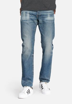 G-Star RAW Revend Straight Denim Jeans Blue