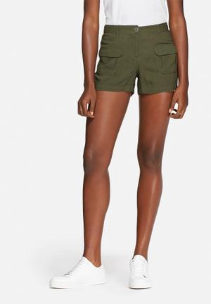 Vero Moda Lanna Shorts Olive