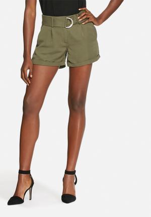 Vero Moda Ofira Shorts Green