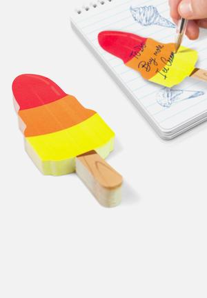 Mustard  Ice Cream Cool Sticky Notes Gifting & Stationery Paper