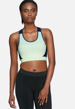 ONLY Play Gretha Sports Bra Blue & Green