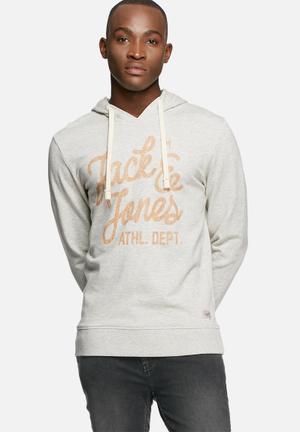 Jack & Jones Originals Sakis Sweater Hoodies & Sweatshirts Grey