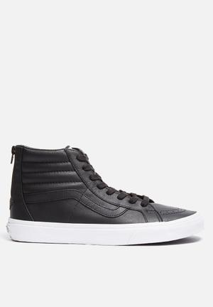 Vans SK8-Hi Reissue Zip Sneakers Black / True White