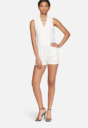 Vero Moda Mer Playsuit White