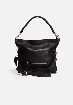 FSP Collection Fifi Crossbody Bag Black
