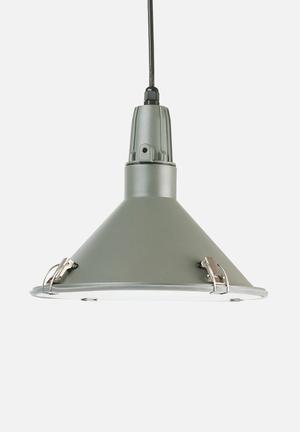 Present Time Inside-out Pendant Lamp Lighting Aluminium