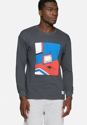 2Bop TV Games Tee T-Shirts & Vests Grey