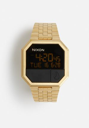 Nixon Re-Run Watches Gold