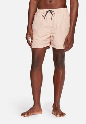 Selected Homme Classic Swim Shorts Swimwear Pink