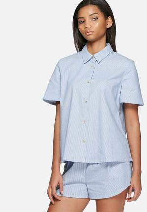 ADPT. Loveless Shirt Blue