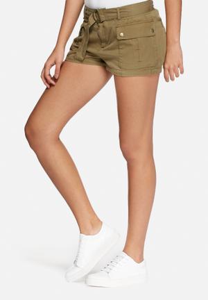 ONLY Arizona Cargo Shorts Khaki