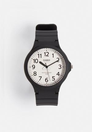 Casio Analog Watch MW-240-7BVDF Black & White