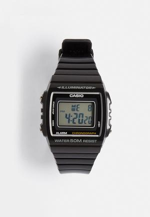 Casio Digital Watch W-215H-1AVDF Black