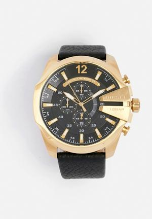 Diesel  Mega Chief Watches Black / Gold