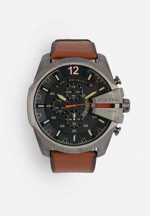 Diesel  Mega Chief Watches Brown / Black