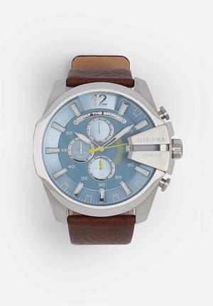 Diesel  Mega Chief Watches Brown / Blue