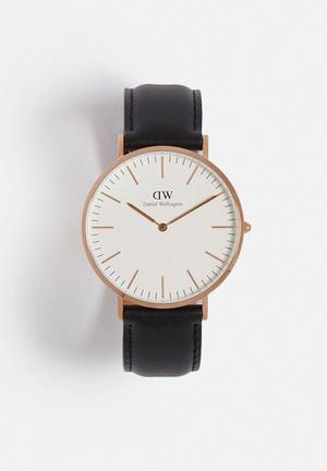 Daniel Wellington Sheffield Watches Rose Gold