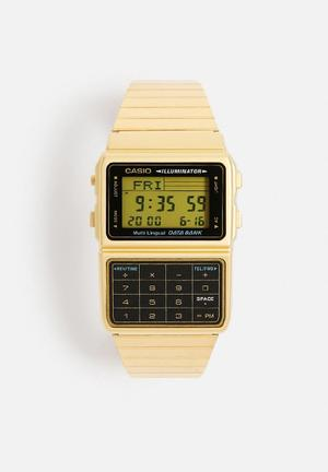 Casio Calculator Digital Watch DBC-611G-1DF Gold
