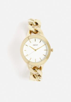DKNY Chambers Watches Gold