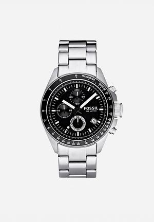 Fossil Decker Watches Silver