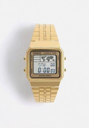 Casio Digital Wrist Watch A500WGA-9DF Gold