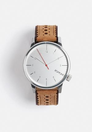 Komono  Winston Brogue Watches Macchiato