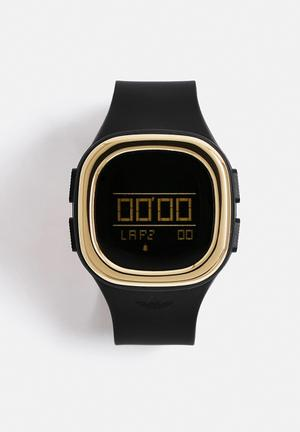Adidas Originals Denver Watches Black & Gold