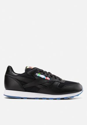Reebok Classic Leather Oly Sneakers Black, White & Ice