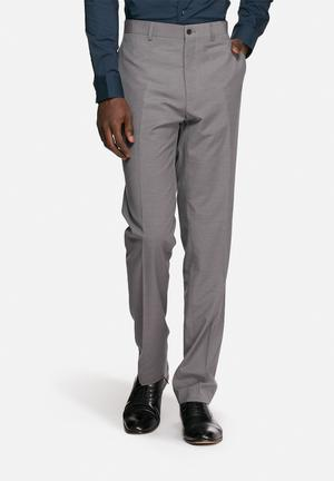 Casual Friday Max Suit Trousers Pants Grey