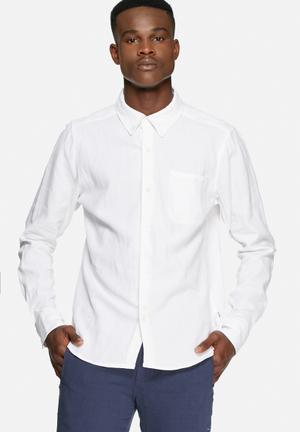 Bellfield Connaught Shirt White