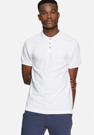 Bellfield Zorro Tee T-Shirts & Vests White