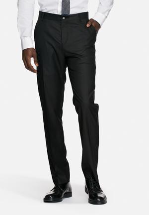 Selected Homme Logan Slim Trousers Pants Black