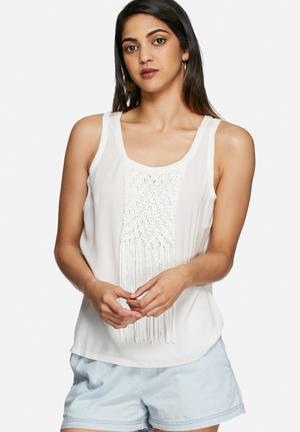 Vero Moda Mayanna Top Blouses White