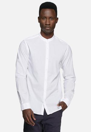 Jack & Jones Footwear And Accessories Branson Slim Shirt White