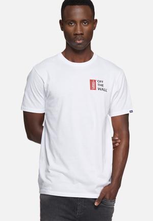 Vans Vans OTW Tee III T-Shirts & Vests White
