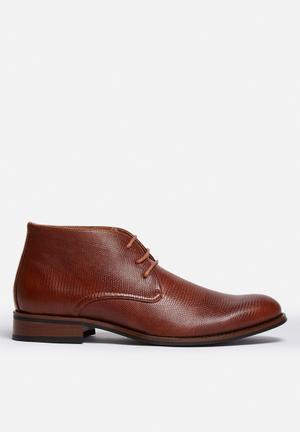 Franco Gemelli Harvey Boots Tan