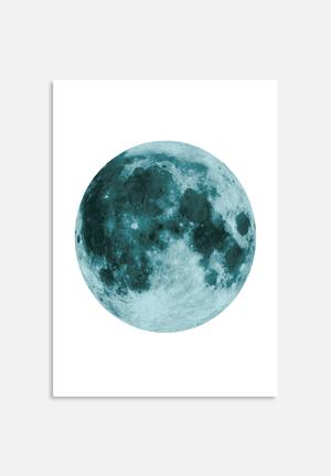 The Glass Mountain Moon Art