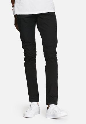 Jack & Jones Jeans Intelligence Marco Earl Slim Chino Black
