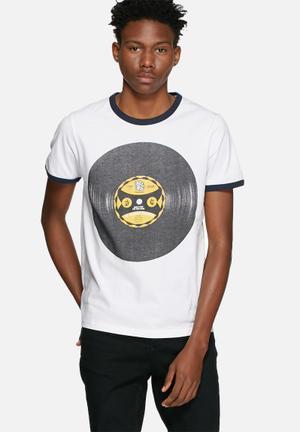 Jack & Jones Originals Retro Tee T-Shirts & Vests White
