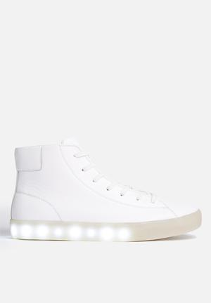 My Pop Shoes High Pop Sneakers White