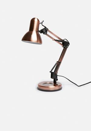 Present Time Hobby Desk Lamp Lighting Steel