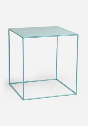 Sixth Floor Cube Table Large Metal